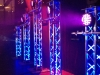 truss totems at dj expo 2012 stage